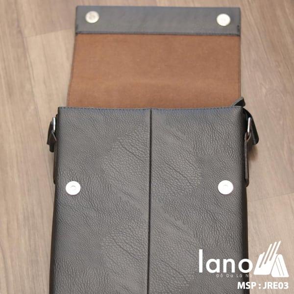 Túi Đựng iPad Lano Đeo Chéo Jeep Thời Trang Giá Rẻ 003 đen - bên trong