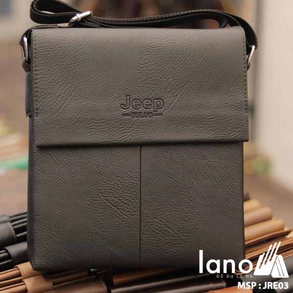 Túi Đựng iPad Lano Đeo Chéo Jeep Thời Trang Giá Rẻ 003 đen