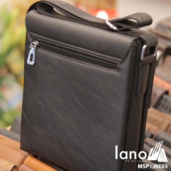 Túi Đựng iPad Lano Đeo Chéo Jeep Thời Trang Giá Rẻ 003 đen - mặt sau