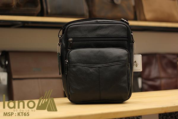 Túi đeo chéo nam giá rẻ KT65 đen