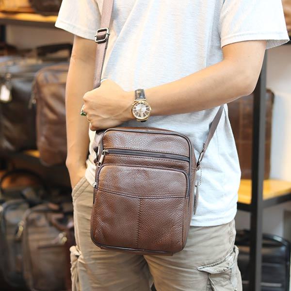 Túi Đeo Chéo Nam Lano Da Bò Giá Rẻ KT65 đeo chéo
