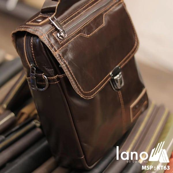 Túi xách nam đeo chéo công sở thời trang giá rẻ KT63 nghiêng