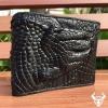Bóp bàn tay da cá sấu thật cho nam BCS15