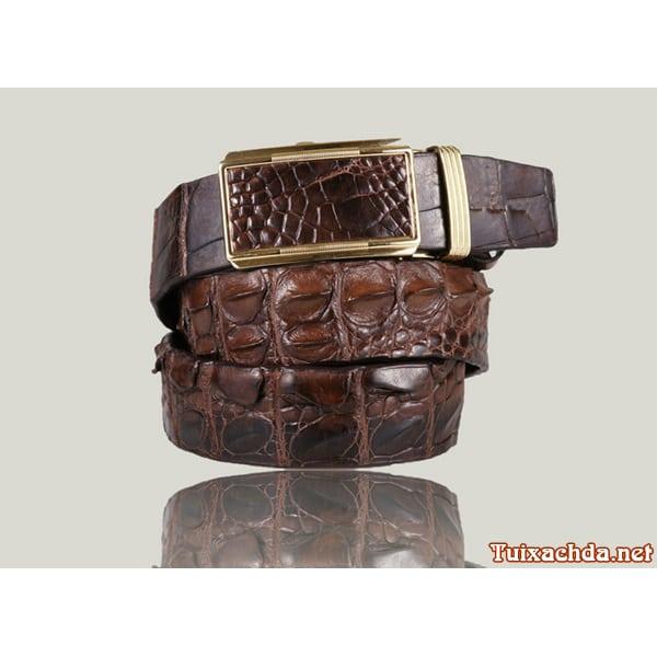 Thắt lưng nam da cá sấu thật giá rẻ 011