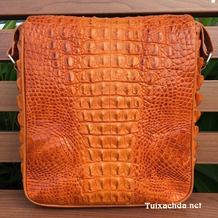 Túi Nam Da Cá Sấu Thật 05