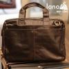 Cặp da nam công sở Lano thời trang cao cấp đựng laptop 15inch CD61