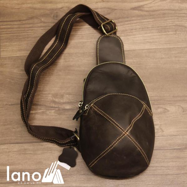 Túi da đeo chéo ngực, lưng mới cho nam đẹp độc lạ TDL29