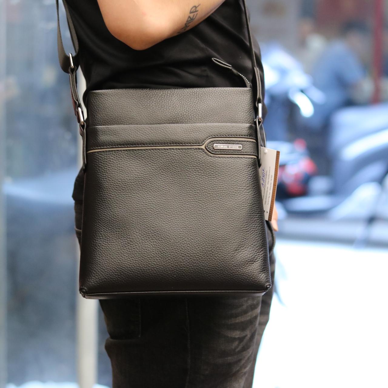 Túi da nam đeo chéo thời trang sang trọng Schwarz Etienne TXSE06