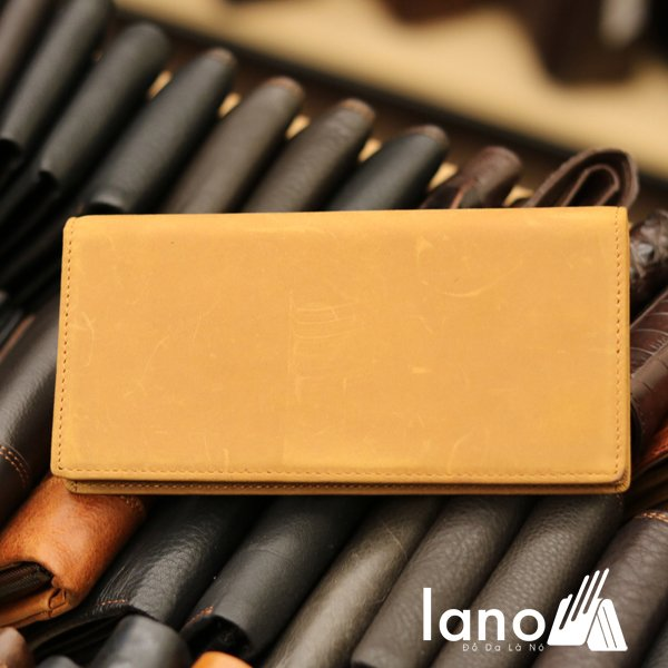 Ví dài cầm tay cho nam da bò sáp thời trang công sở VCTN011