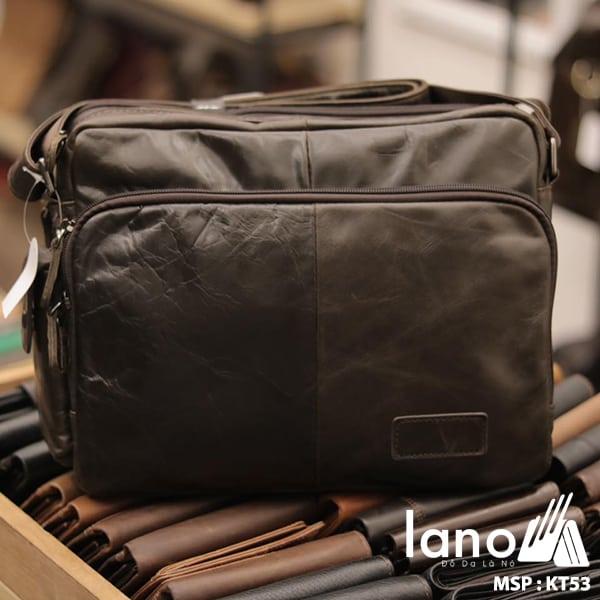 Túi xách nam Lano da bò đựng iPad KT53
