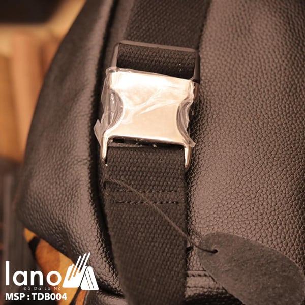 Túi đeo chéo bụng da bò thời trang Lano phong cách TĐB004