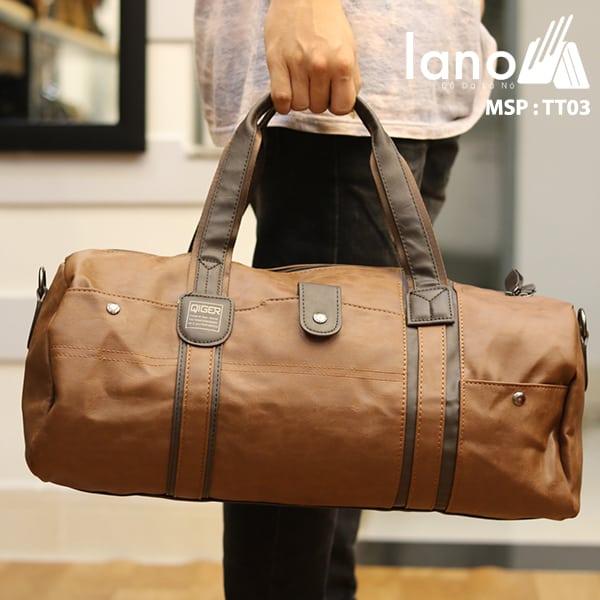 Túi du lich nam Lano kiểu dáng Hàn Quốc Thời trang cao cấp TT03 xách tay