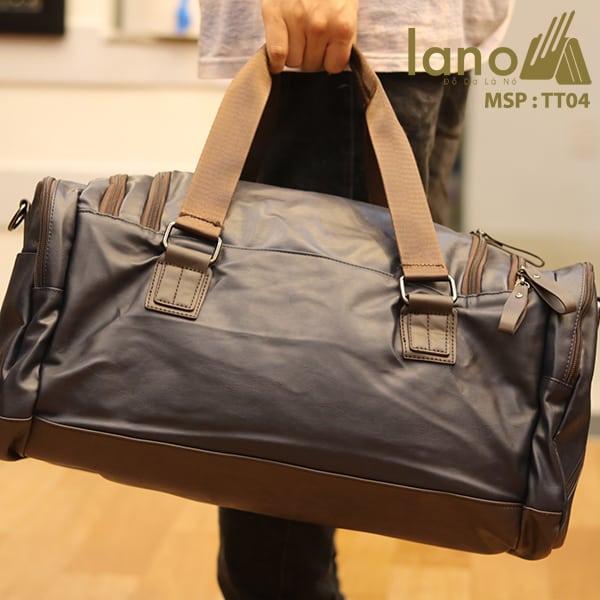 Túi trông du lịch nam Lano thời trang tiện lợi TT04 xách tay