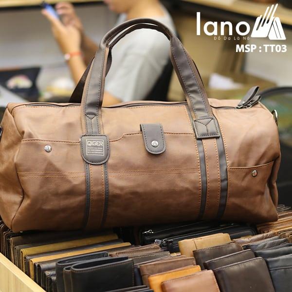 Túi du lich nam Lano kiểu dáng Hàn Quốc Thời trang cao cấp TT03