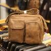 Túi đeo chéo nam Lano da bò thật thời trang bụi bặm KT81