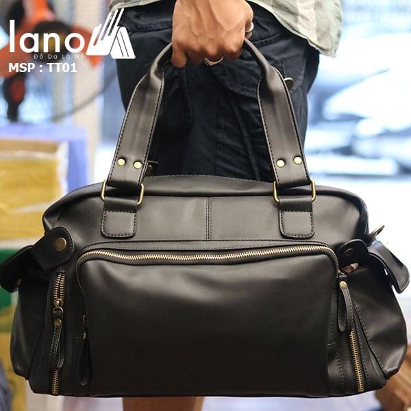 Túi trống du lịch thời trang Lano nam tính TT01 xách tay
