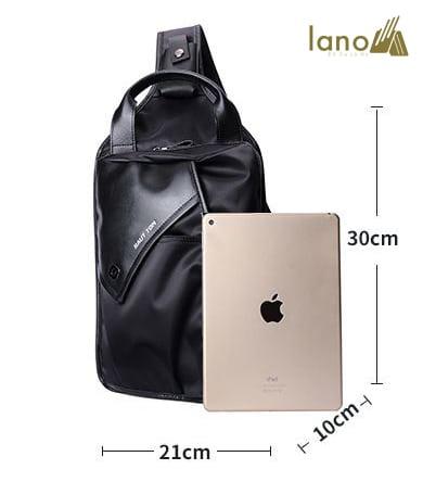 Túi đeo chéo ngực nam Lano thời trang đẳng cấp Hautton TDL42 kích thước