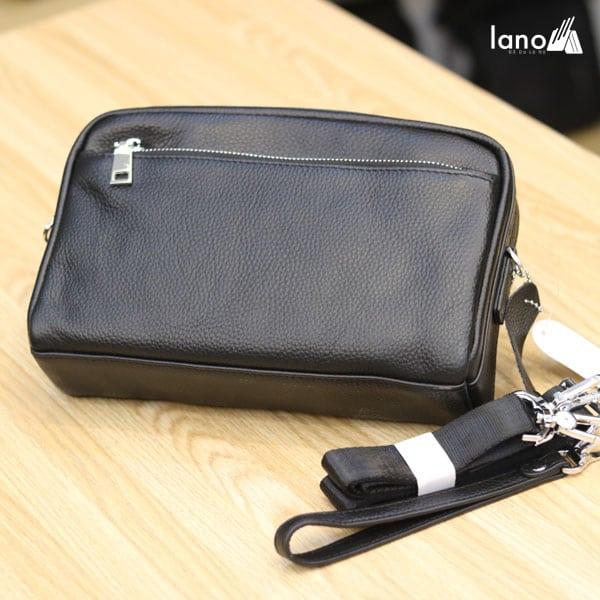 Túi đeo chéo nam Lano da bò trẻ trung năng động KT77 mới lạ