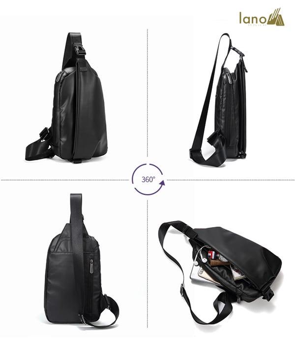 Túi đeo ngực thời trang cá tính Lano TDL40