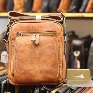 Túi da đeo chéo Lano dạng hộp đẳng cấp lịch lãm KT96
