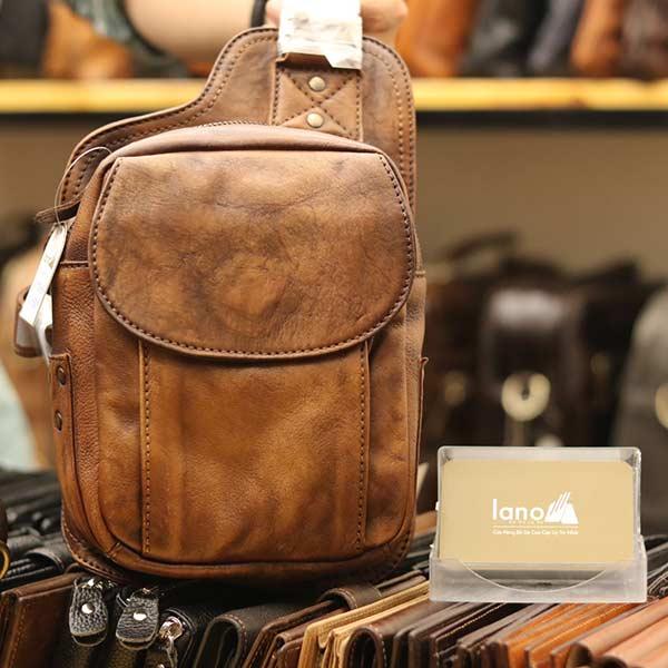Túi da đeo chéo lưng Lano thời trang sang trọng TDL46