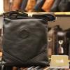 Túi da nam đeo chéo đựng iPad Lano thời trang công sở KT93 đen