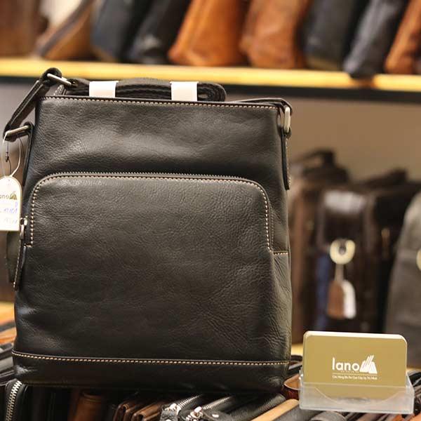 Túi đeo chéo nam công sở da bò đẳng cấp cho phái mạnh KT101 đen