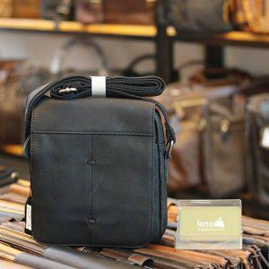 Túi đeo chéo nam da bò cao cấp Lano sang trọng thời trang tiện lợi KT107