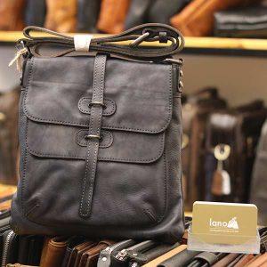 Túi đeo chéo nam Lano da bò thật trẻ trung tiện lợi KT90