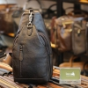 Túi đeo ngực nam Lano da bò thời trang phong cách TDL49