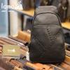 Túi đeo ngực nam Lano thời trang cao cấp TDL50 đen