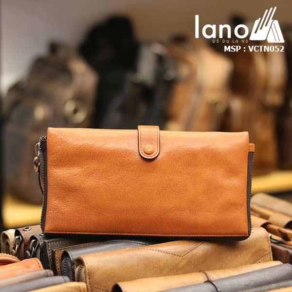 Ví cầm tay nam Lano thời trang mới nhỏ gọn tiện lợi VCTN052