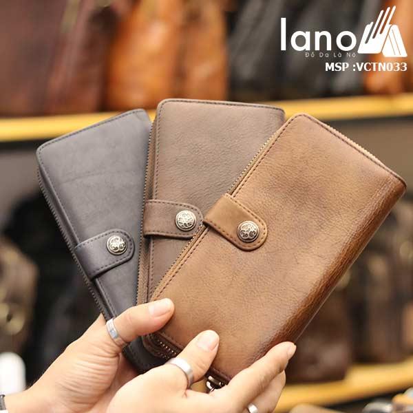 Ví dài cầm tay nam Lano tự tin cá tính mẫu mới 2018 VCTN033