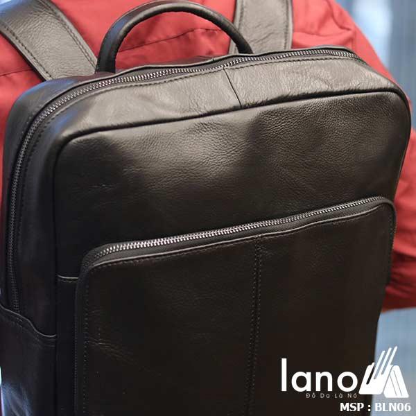 Balo da bò cho nam thời trang giá rẻ đựng Laptop Lano BLN06 đeo lưng
