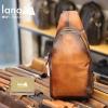 Túi da đeo trước ngựa nam Lano da bò thật TDL53