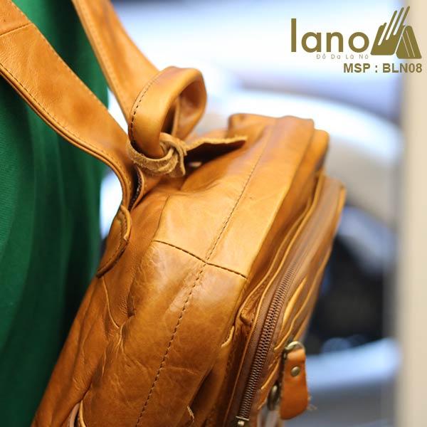 Ba lô da bò thời trang Lano BLN08