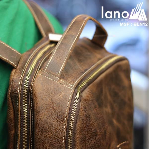 Balo da bò thời trang phong cách đựng Laptop Lano BLN12