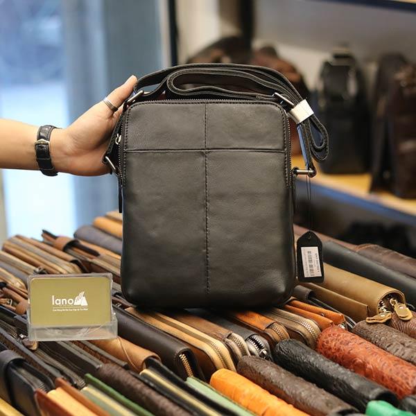 Túi da đeo chéo Lano gọn nhẹ sang trọng lịch lãm KT111