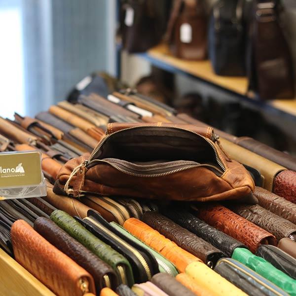 Túi đeo bụng da thật thời trang tuyệt đẹp TDB 007 - ngăn trong
