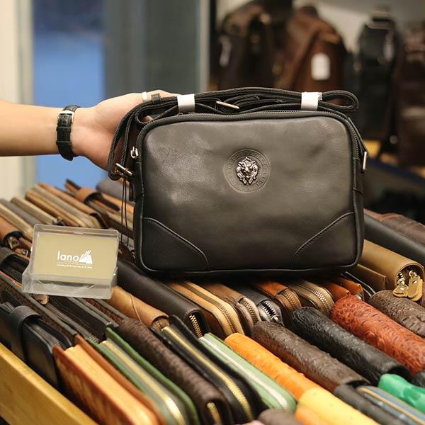 Túi đeo chéo công sở Lano da bò thời trang tiện lợi KT112