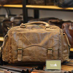 Túi xách da làm từ da bò thuộc
