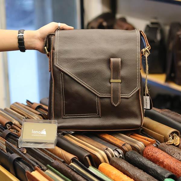 Túi da bò thời trang Lano cao cấp mới nhất 2018 KT116