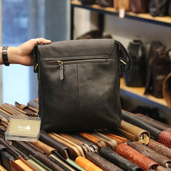 Túi da bò thời trang Lano cao cấp mới nhất 2018 KT116 - mặt sau
