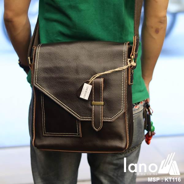 Túi da bò thời trang Lano cao cấp mới nhất 2018 KT116 - đeo chéo