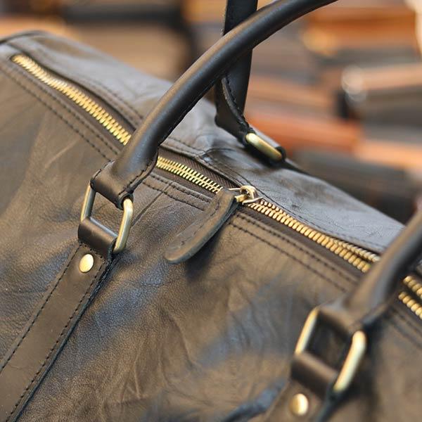 Túi trống da bò Lano du lịch trẻ trung TT07