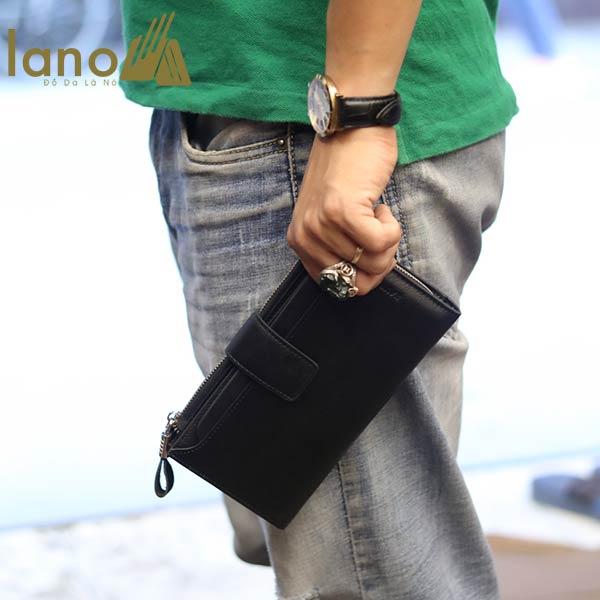 VÍ cầm tay nam thời trang lịch lãm VCTN057 - cầm tay