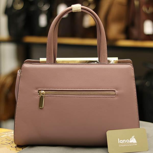 Túi xách nữ cao cấp mẫu mới nhất 2019 Lano TXN004 -mặt sau