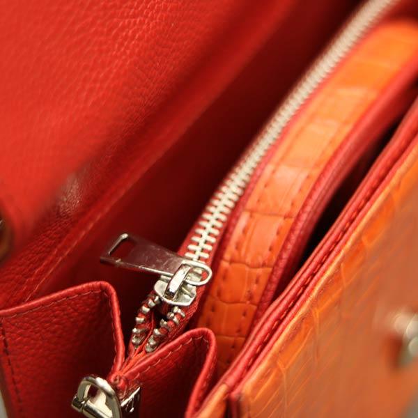 Túi xách nữ da cá sấu thời trang nhỏ gọn TXN009 - ngăn trong