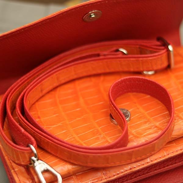 Túi xách nữ da cá sấu thời trang nhỏ gọn TXN009 - dây đeo