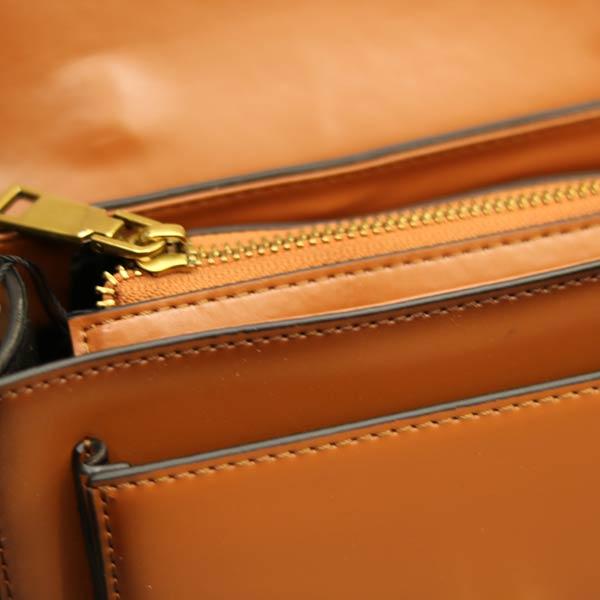 Túi xách nữ da thật dáng đẹp Lano TXN003 - bên trong